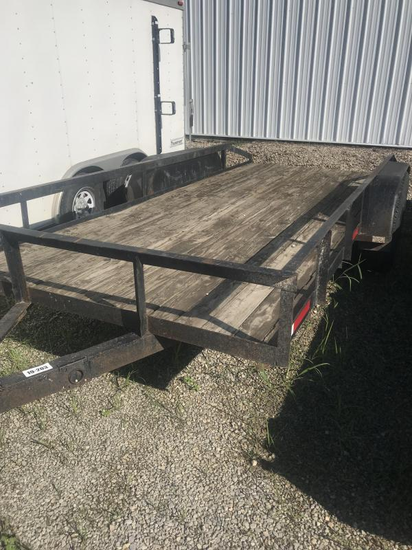 1990 Other 7x16 Utility Flatbed Trailer