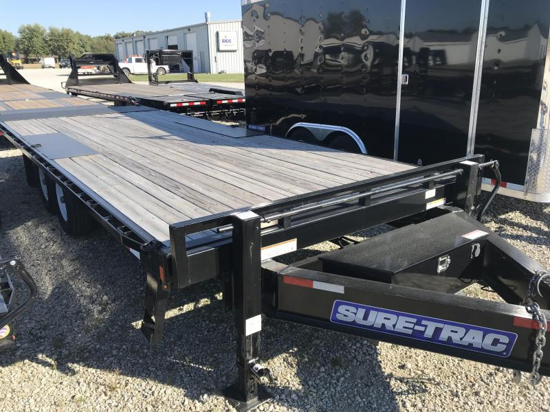 2017 Sure-Trac 85X22 Deckover Tilt Equipment Trailer