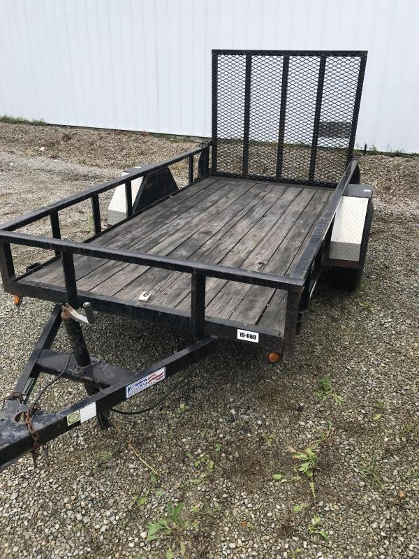 2008 Liberty 5x10 Utility Flatbed Trailer