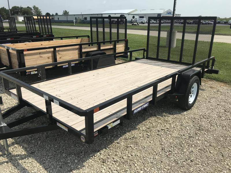 2019 Sure-Trac 7 X 12 Tube Top Utility 3K Idler