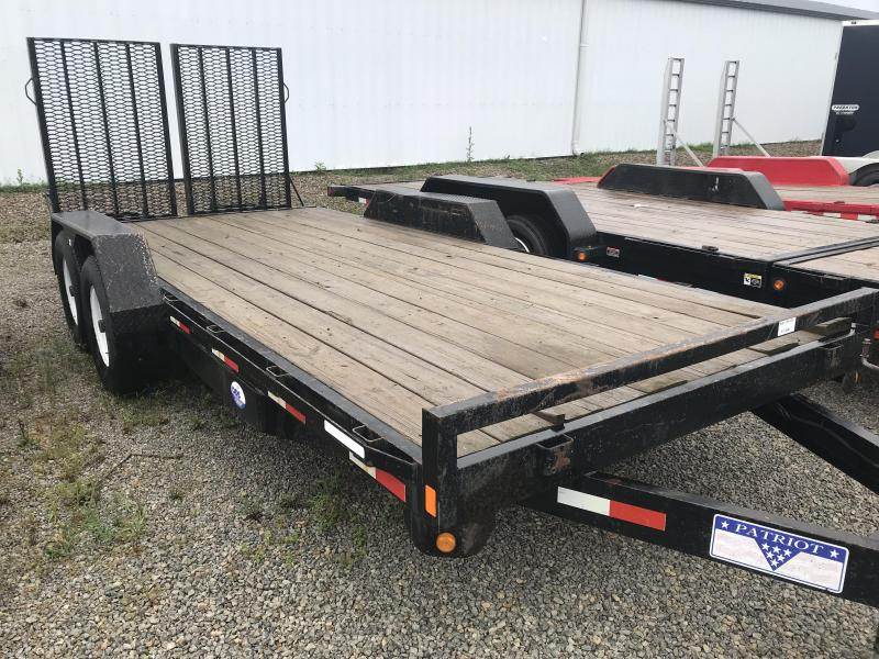 2007 Liberty 7X20 IMPLEMENT Equipment Trailer