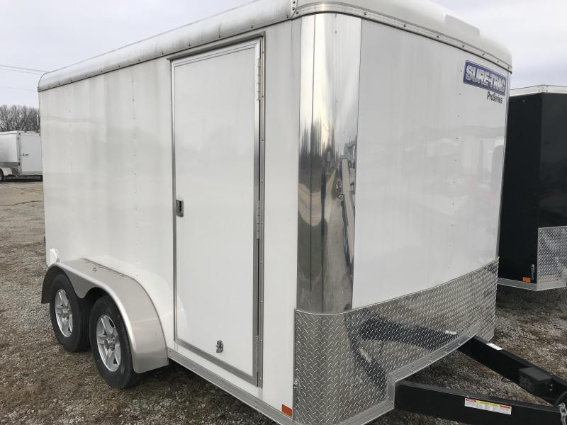 2017 Sure-Trac 7x12 Pro Series RT Cargo Trailer