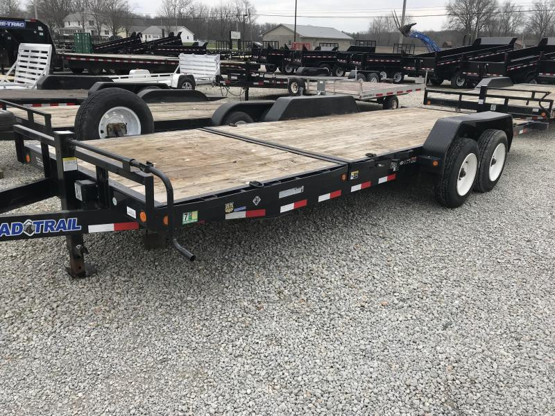2017 Load Trail 176 Tilt Equipment Trailer