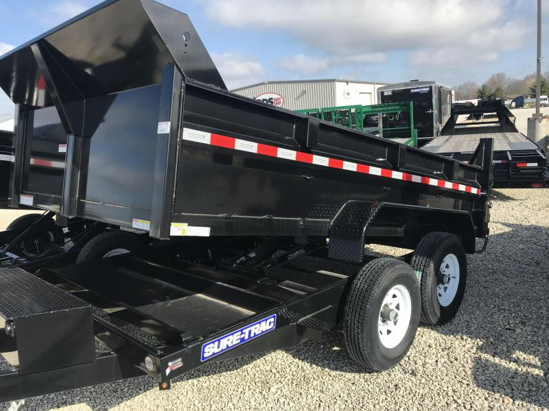 2017 Sure-Trac 82 IN X 12 LProfile Scissor Dump 12K
