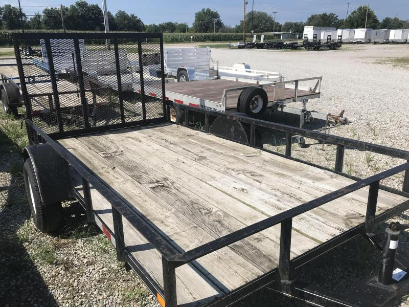 2007 Other 6x12 Utility Flatbed Trailer