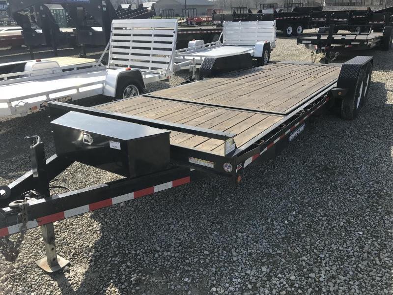 2016 Sure-Trac 18+4Tilt Equipment Trailer