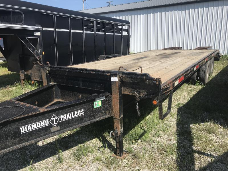 2008 Diamond D 85x205 Pintle Hitch Equipment Trailer
