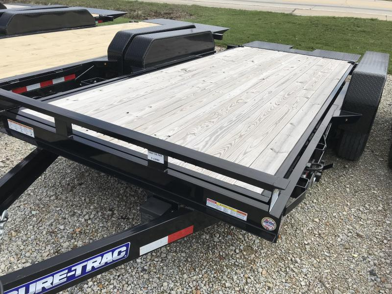 2017 Sure-Trac 7x16 Tilt Equipment Trailer