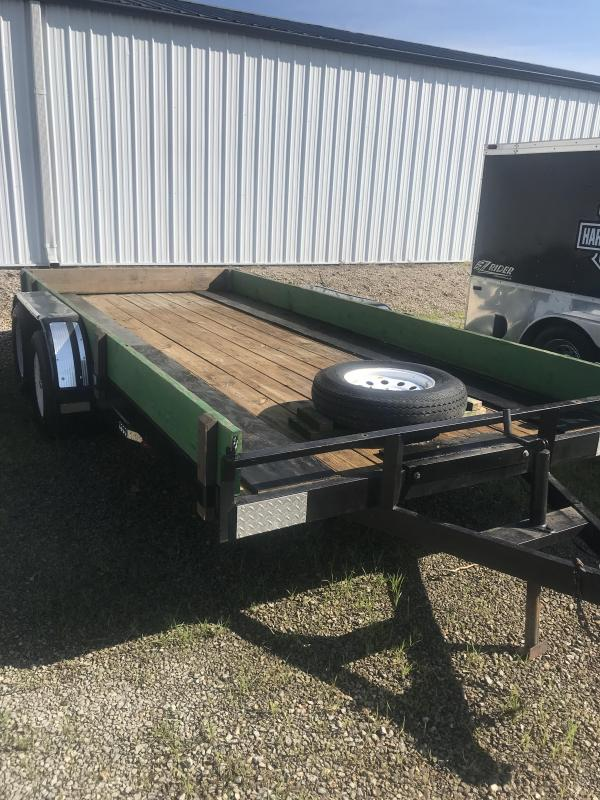 2007 Other 7x16 Utility Flatbed Trailer