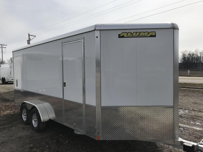 2018 Aluma AE716TA Enclosed Cargo Trailer