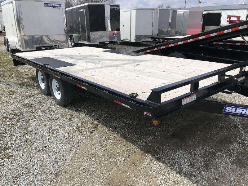 2016 Sure-Trac 8.5x18 Flat Deck Deckover