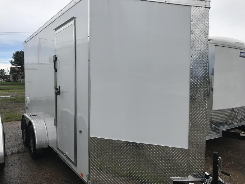 2019 Formula Trailers 7x14 Triumph Slope Nose Enclosed Cargo Trailer