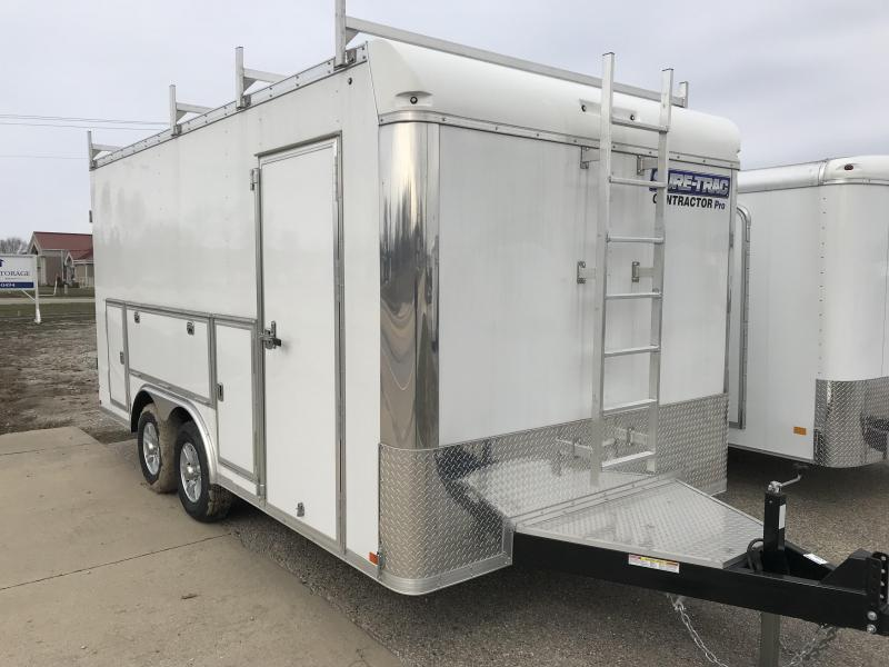 2017 Sure-Trac 8.5x16 Contractor Pro BN Cargo Trailer