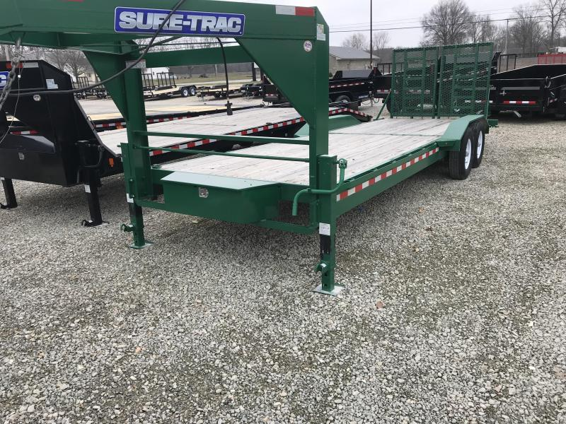 2017 Sure-Trac ST85x202 Low Pro Goosneck Equipment Trailer