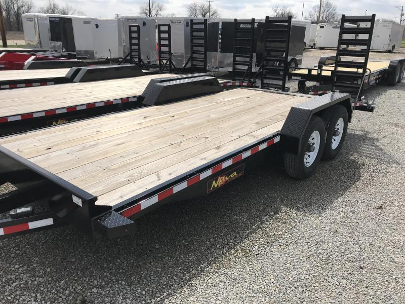 2017 Midsota Nova ET8218 Equipment Trailer