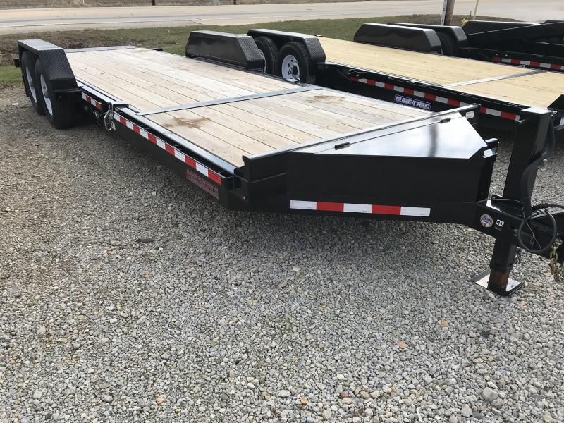 2017 Midsota TB-22 Tilt Equipment Trailer