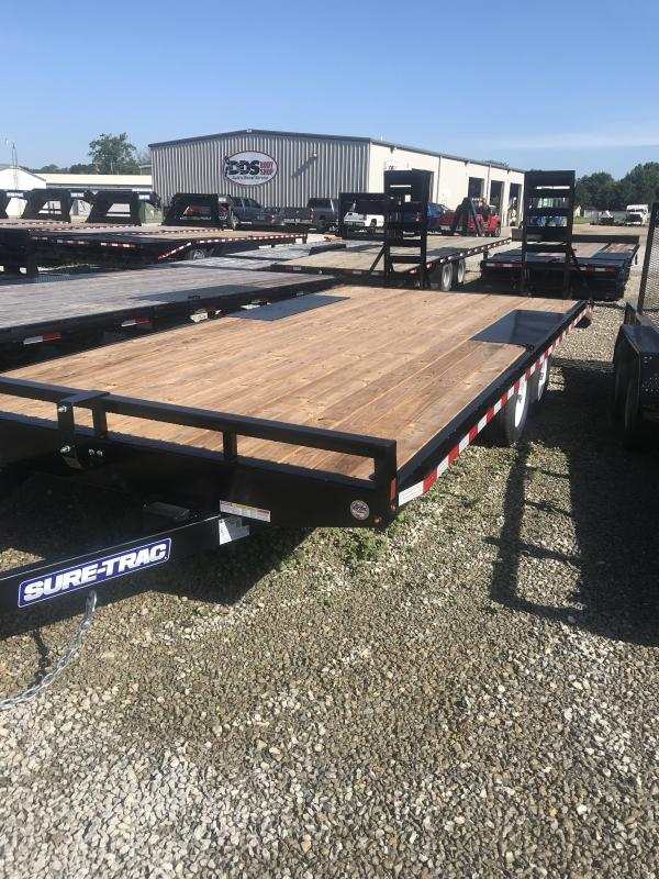2019 Sure-Trac 8.5 X 17 + 3FT Beavertail Deckover  10k