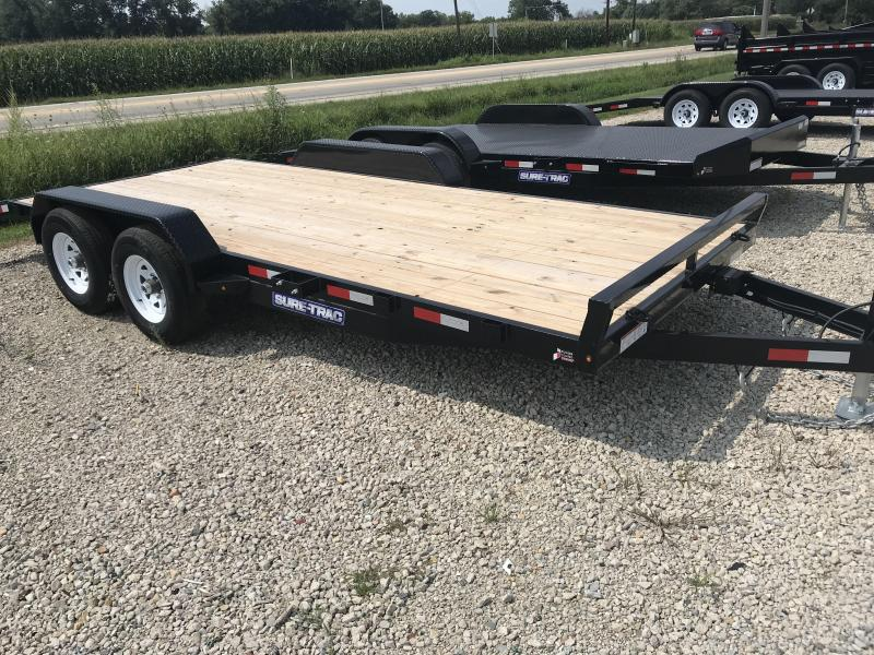 2018 Sure-Trac ST8220CHW-B-100 Car / Racing Trailer