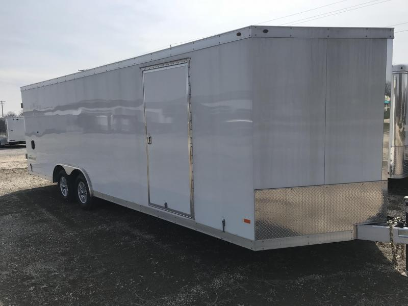 2016 Haulmark 85x24 VNose Enclosed Car / Racing Trailer
