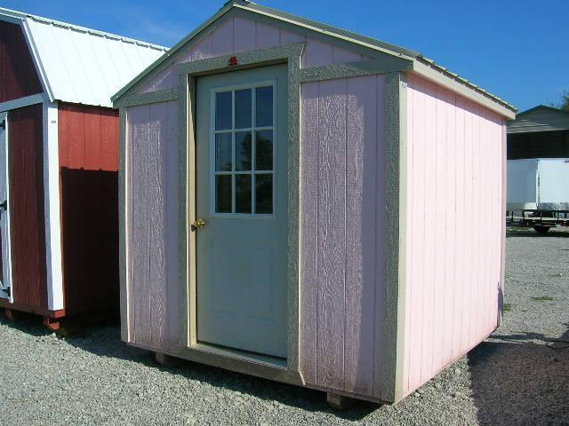 ***DISCOUNTED*** 8x8 UTILITY BUILDING GUARD SHACK