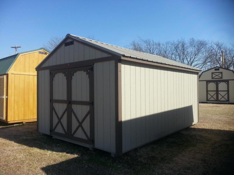 Cabinette 12x28 Trailers Portable Storage Buildings