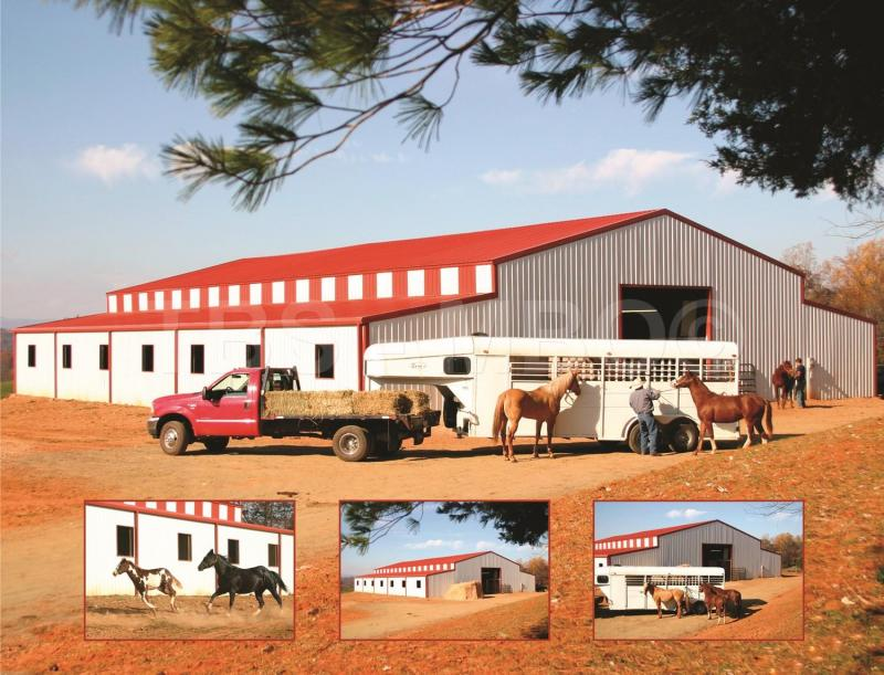 54X100 Barn / Stable #B015