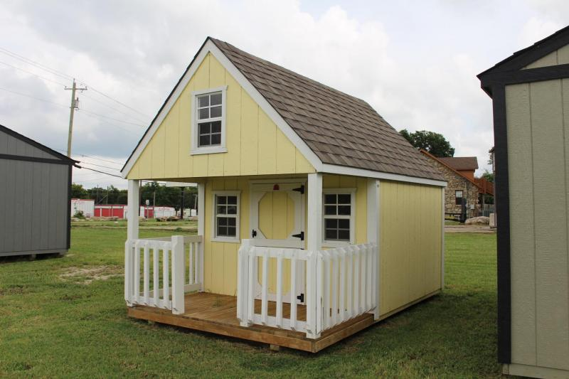 8x12x5 Hideout Playhouse