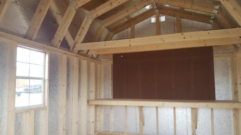 12x16 Lofted Barn | Trailers, Portable Storage Buildings, and Carports