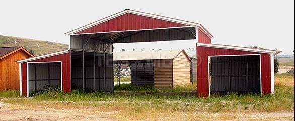 48x20 Barn / Carport #B035