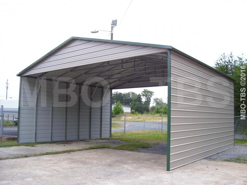 30X26X12 Vertical Roof Carport #CP13