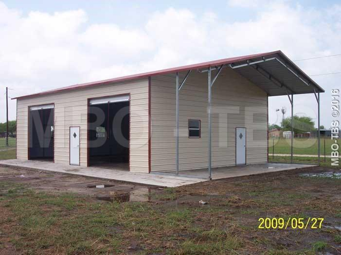 30x45x12 Garage #G173 | Trailers, Portable Storage ...