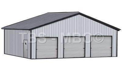 36X35X12 Garage / Shop #G056