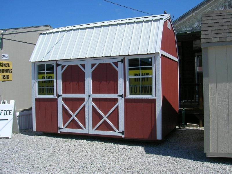***DISCOUNTED*** 8X12 LOFTED BARN