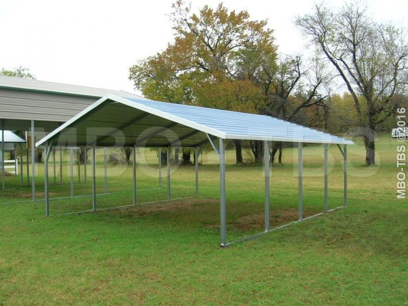 18X20X6 BOXED EAVE CARPORT #CP023