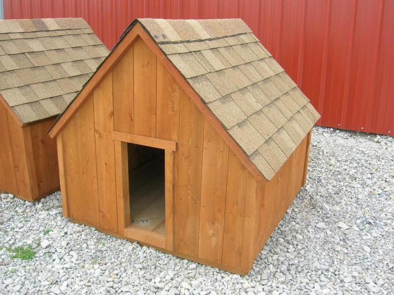 4x4 Doghouse Cedar