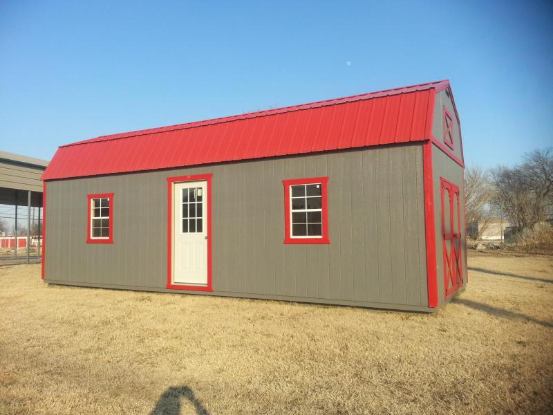 ***DISCOUNTED*** 12X30 LOFTED BARN CABIN