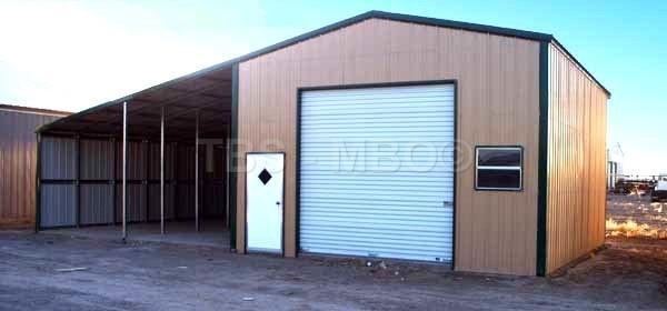 48X25 Garage / Barn #B029