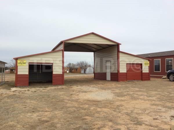 46x20 Barn / Carport #B041