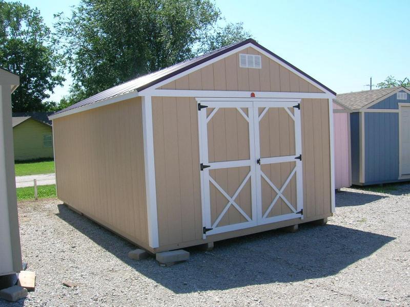 12x20 Utility Storage Building