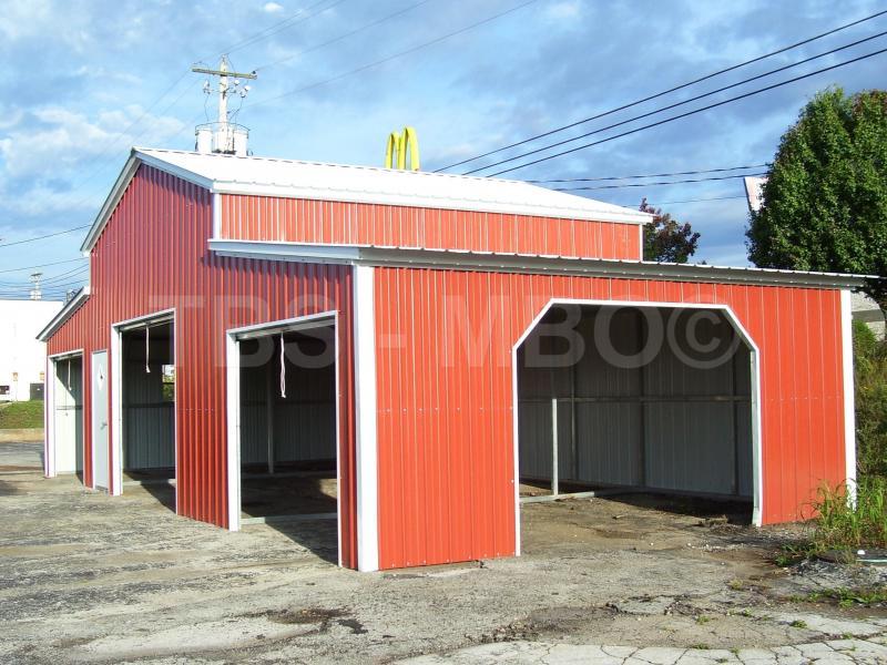 48X25 Garage / Barn #B008
