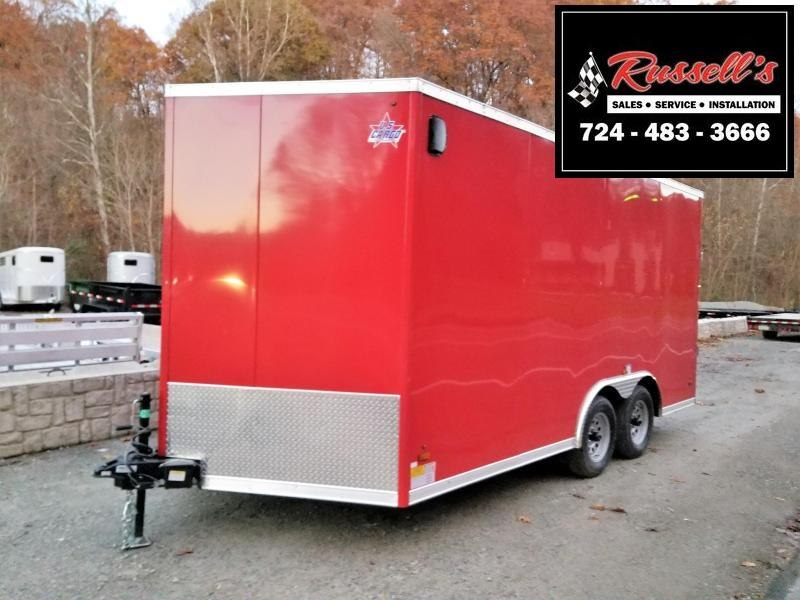 2019 US Cargo 8.5x16 ULAFT Ramp Door 6'' Extra Height Enclosed Cargo Trailer