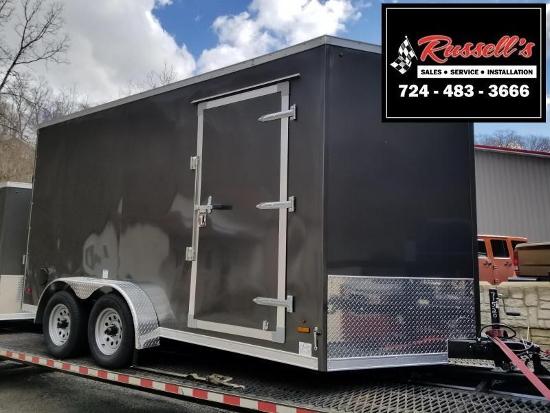 2019 US Cargo 7x14 ULAFT Ramp Door 12'' Extra Height Enclosed Cargo Trailer