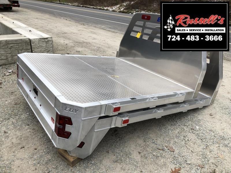 "EBY Big Country Flat Bed 8.5' x 84"" SRW Bed Removal"