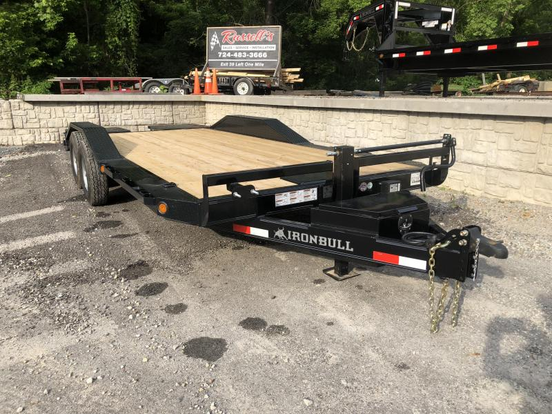 IRONBULL 16K EQUIPMENT TRAILER W/ HD DRIVE-OVER FENDERS 20' (EQ)