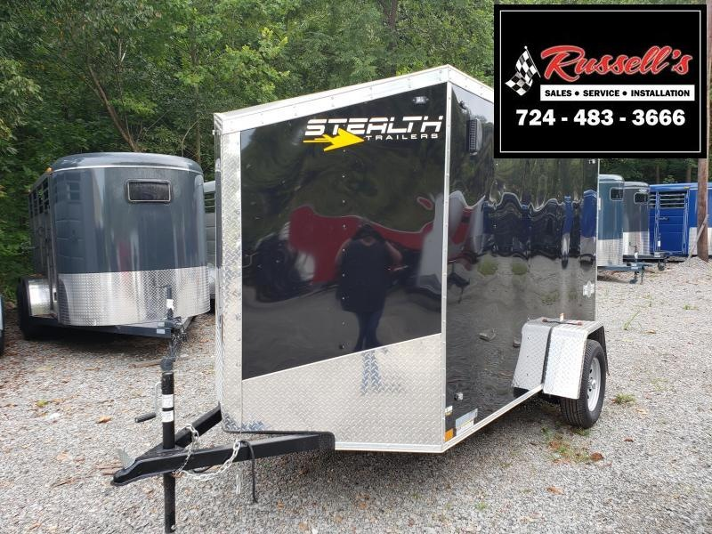 2020 Stealth Trailers 6x10 Ramp Door Mustang Enclosed Cargo Trailer