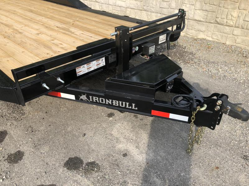 Ironbull ETB 20' Trailer W/ Driveover Fenders & Rampage Ramps