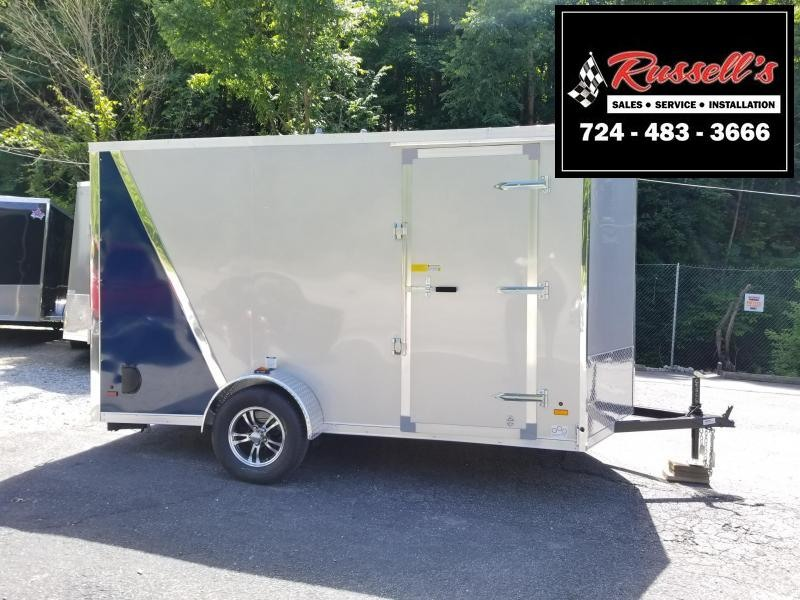 2019 US Cargo ULAFT 6'' Extra Height Ramp Door Enclosed Cargo Trailer