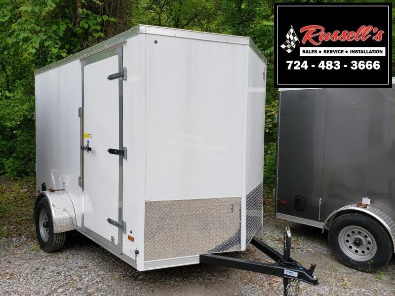 2019 US Cargo ULAFT 6x10 6'' Extra Height Ramp Door Enclosed Cargo Trailer