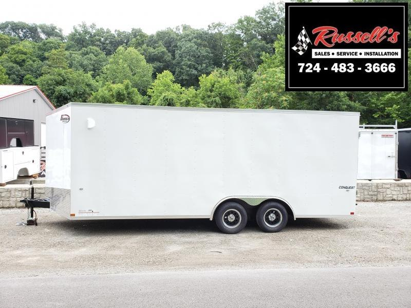 2020 Formula Trailers Conquest Car Hauler 6'' Extra Height