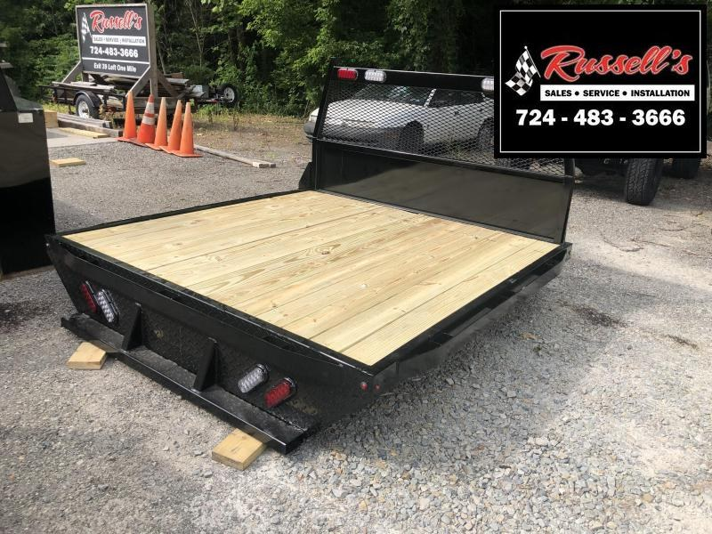 2019 RAS Series Flatbed SRW 6.5' Bed Removal